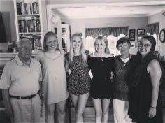 My grandparents (known as Magoo or Oma and Pop-Pop) with 4/5 of their grandchildren