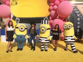 Rowena, me, and Cyndy met some of the minions from DM3