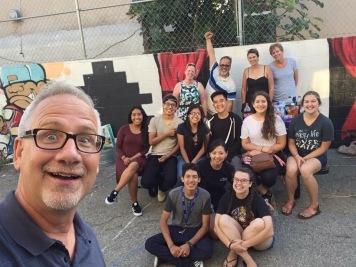 National Director, Glenn, takes a selfie at the DOOR LA Discerner BBQ